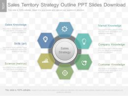 See Sales Territory Strategy Outline Ppt Slides Download