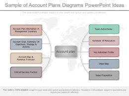 See Sample Of Account Plans Diagrams Powerpoint Ideas