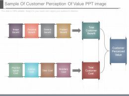 See Sample Of Customer Perception Of Value Ppt Image