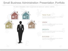 See Small Business Administration Presentation Portfolio