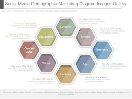 See Social Media Demographic Marketing Diagram Images Gallery