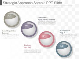 See Strategic Approach Sample Ppt Slide