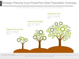 See Strategic Planning Cycle Powerpoint Slide Presentation Examples