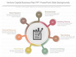 See Venture Capital Business Plan Ppt Powerpoint Slide Backgrounds