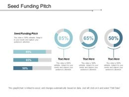 Seed Funding Pitch Ppt Powerpoint Presentation Model Layout Cpb