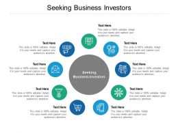 Seeking Business Investors Ppt Powerpoint Presentation Gallery Files Cpb