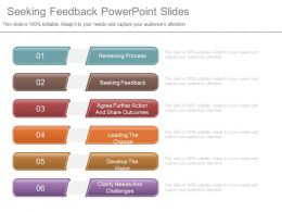 Seeking Feedback Powerpoint Slides