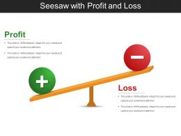 Seesaw With Profit And Loss