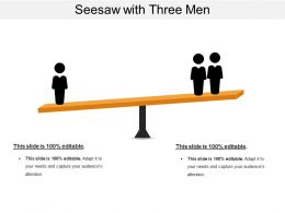 Seesaw With Three Men