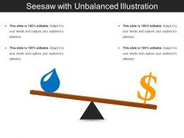 Seesaw With Unbalanced Illustration