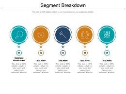 Segment Breakdown Ppt Powerpoint Presentation Pictures Portrait Cpb