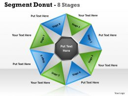 Segment circular Donut 8 Stages 7