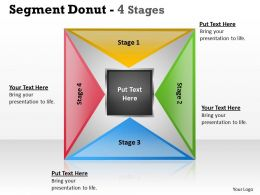 Segment Donut 4 Stages 10