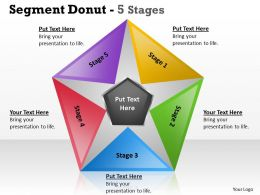 Segment Donut 5 Stages circular 11