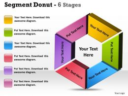 Segment Donut 6 Stages circular 7