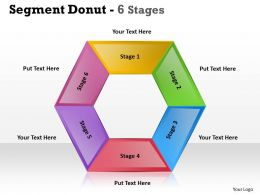 Segment Donut Stages templates 10