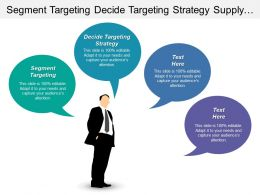 Segment Targeting Decide Targeting Strategy Supply Industry Framework