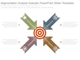Segmentation Analysis Example Powerpoint Slides Templates