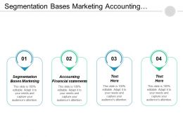 Segmentation Bases Marketing Accounting Financial Statements Balanced Scorecards Cpb