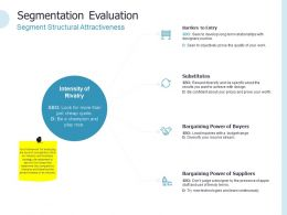 Segmentation Evaluation Intensity Ppt Powerpoint Presentation Gallery