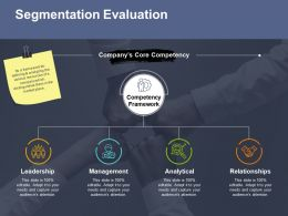 Segmentation Evaluation Ppt File Slides