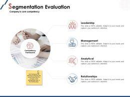 Segmentation Evaluation Slide Management Powerpoint Presentation Introduction