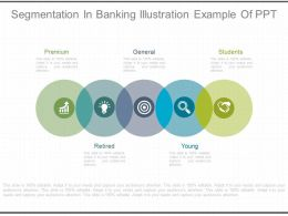 Segmentation In Banking Illustration Example Of Ppt