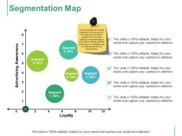 Segmentation Map Ppt Styles Infographic Template
