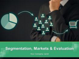 Segmentation Markets And Evaluation Powerpoint Presentation Slides