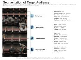 Segmentation Of Target Audience Equity Collective Financing Ppt Information
