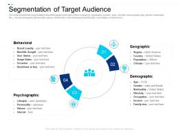 Segmentation Of Target Audience Geographic Ppt Powerpoint Portfolio