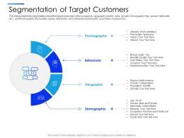 Segmentation Of Target Customers Equity Secondaries Pitch Deck Ppt Template