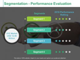 Segmentation Performance Evaluation Performance Ratting Ppt Icon Skills