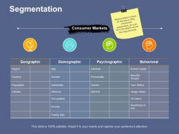 Segmentation Performance Measures Ppt File Background