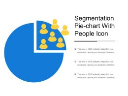 Segmentation Pie Chart With People Icon