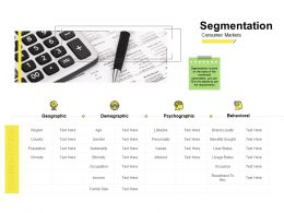 Segmentation Ppt Powerpoint Presentation Inspiration Display