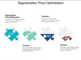 Segmentation Price Optimization Ppt Powerpoint Presentation Pictures Information Cpb
