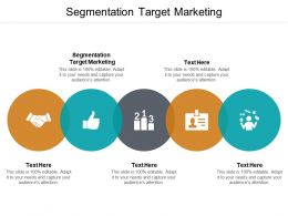 Segmentation Target Marketing Ppt Powerpoint Presentation Show Sample Cpb