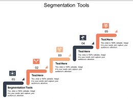 Segmentation Tools Ppt Powerpoint Presentation Model Graphics Example Cpb