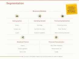 Segmentation Variable Ppt Powerpoint Presentation Show Gallery