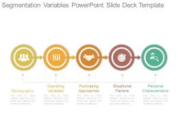 Segmentation Variables Powerpoint Slide Deck Template