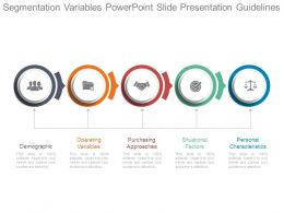 Segmentation Variables Powerpoint Slide Presentation Guidelines