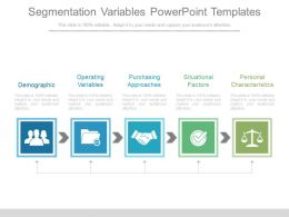 Segmentation Variables Powerpoint Templates