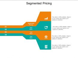 Segmented Pricing Ppt Powerpoint Presentation Visual Aids Cpb