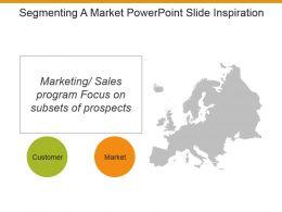 Segmenting A Market Powerpoint Slide Inspiration