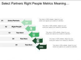 Select Partners Right People Metrics Meaning Process Approach
