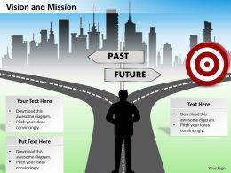 7004609 Style Essentials 1 Our Vision 1 Piece Powerpoint Presentation Diagram Infographic Slide