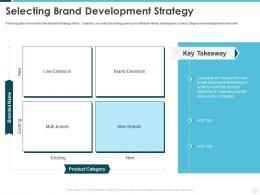 Selecting Brand Development Strategy Building Effective Brand Strategy Attract Customers