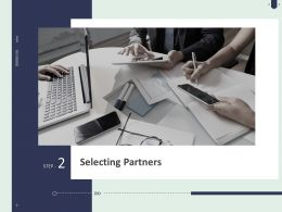 Selecting Partners Ppt Powerpoint Presentation Infographics Styles