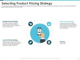 Selecting Product Pricing Strategy Building Effective Brand Strategy Attract Customers